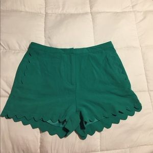 LUSH scalloped shorts